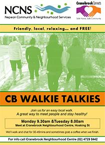 Cranebrook Walkie Talkies