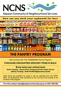 The Pantry Program Kingswood Park