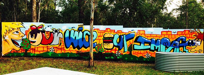 Street Art Project Mural