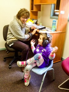 Hearing Test at the Aboriginal Speech and Language Supported Playgroup