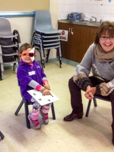 Vision Testing by Cranebrook Community Health