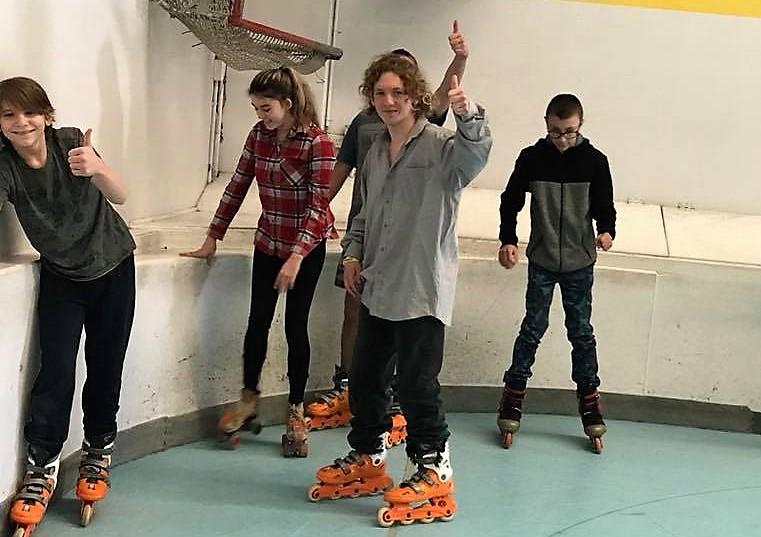 Roller Blading School Holiday Program