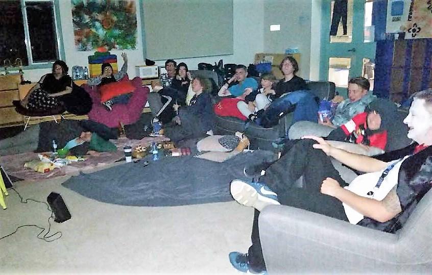 Horror Movie Night School Holiday Program