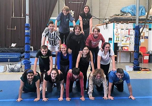Aerialize School Holiday Program