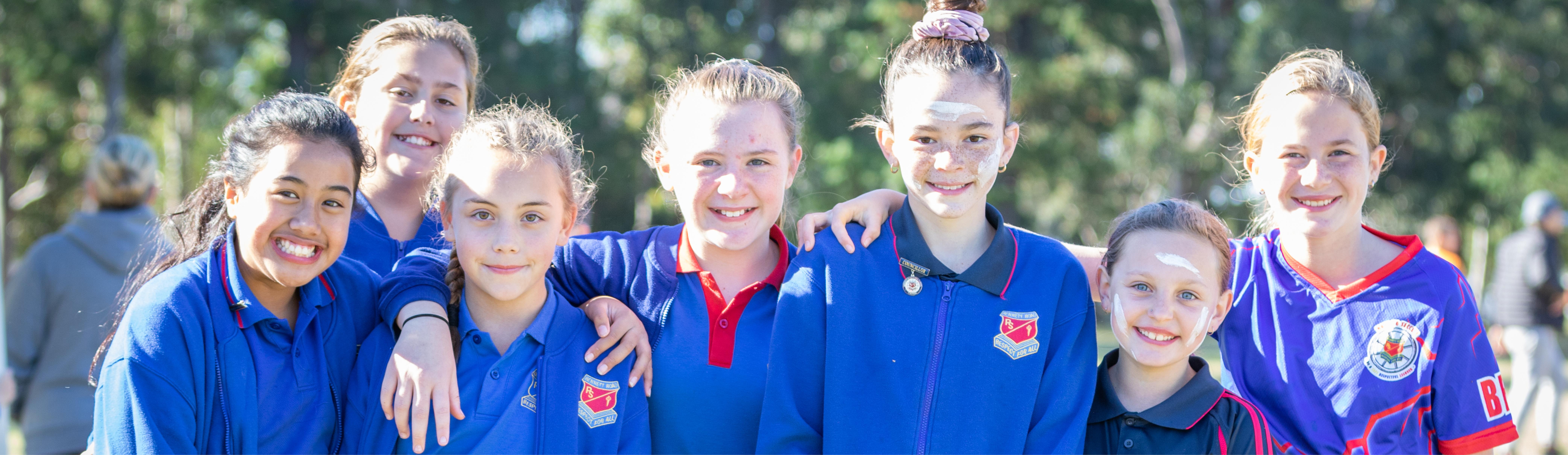 Girls netball team NAIDOC